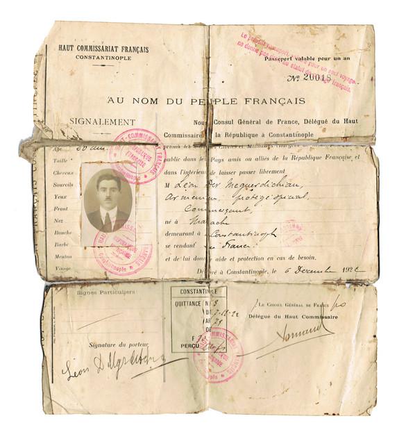 Der-Meguerditchian ID Card