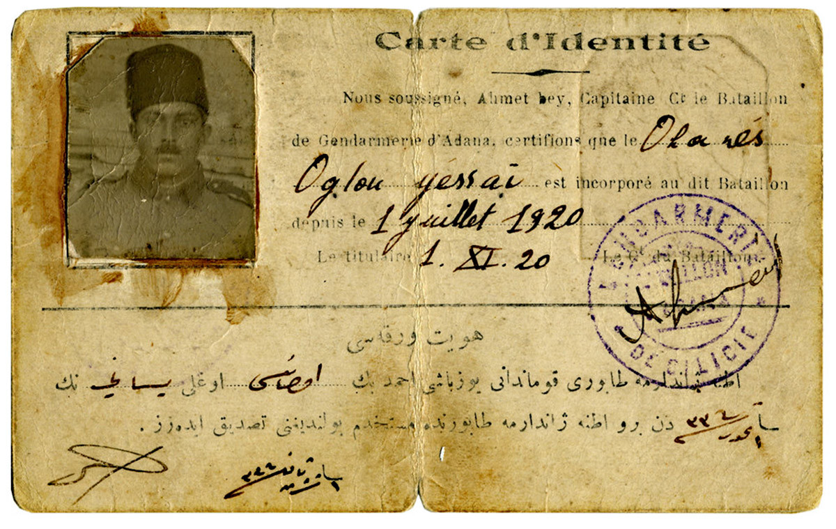 Apartian Ottoman Empire ID Card