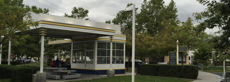 Adams Square Mini Park Gas Station