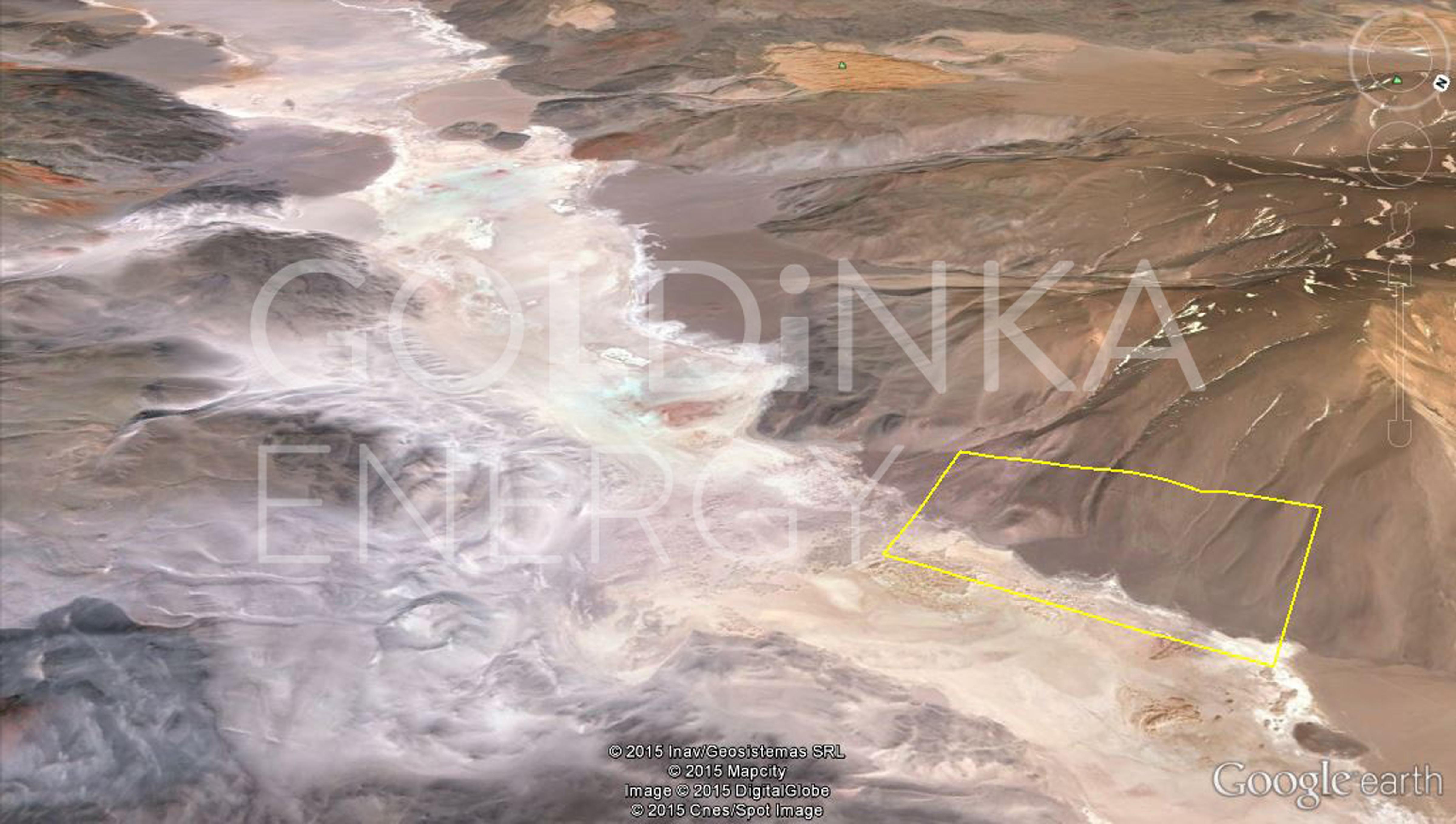 GOLDINKA aerial Project Catamarca