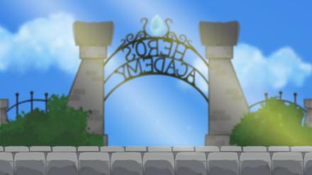 Hero's academy background