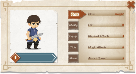 Character Stat