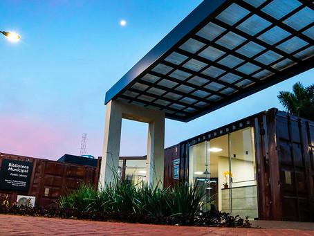 Biblioteca Pública de Santa Bárbara D'oeste foi revestida com Piso Laminado