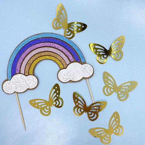 Rainbow & Butterflies