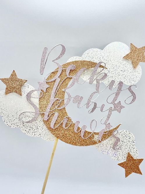 Baby Shower Topper *Personalised*