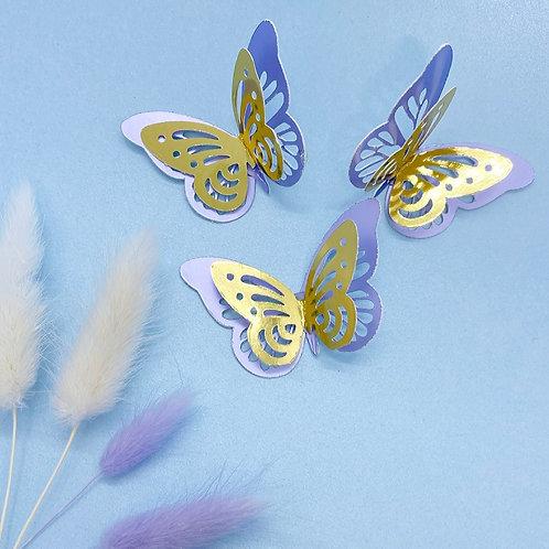 3D Butterflies *6*