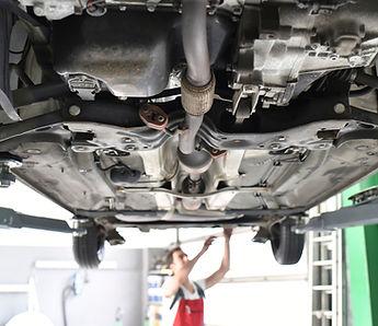 mechanics oil change