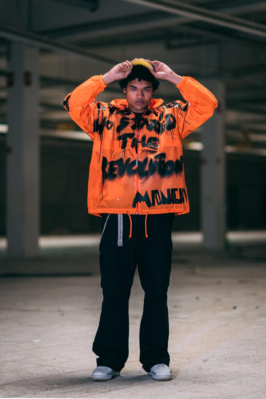 Midnight neon jacket
