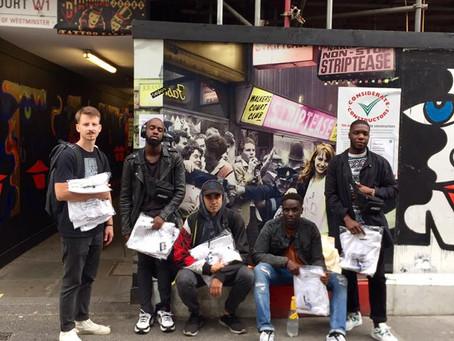 MIDNIGHT - London said respect the hustle