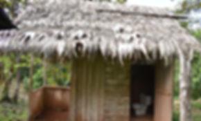 WC/Dusche der Tamandu Lodge