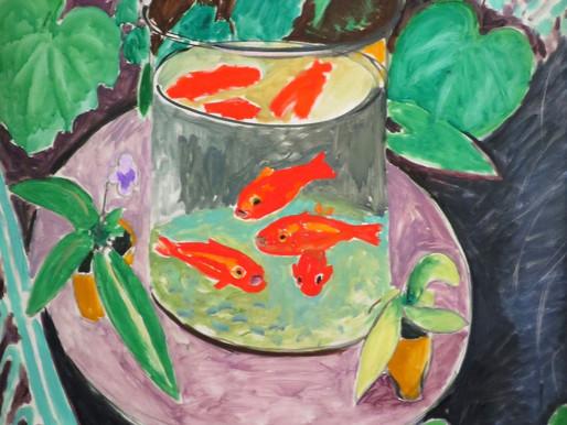 Au bar des poissons rouges