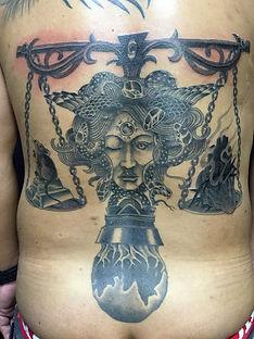 Black&Gray Tattoo Tattoo Ajito Okinawa