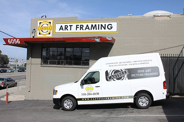 custom fine art framing los angeles