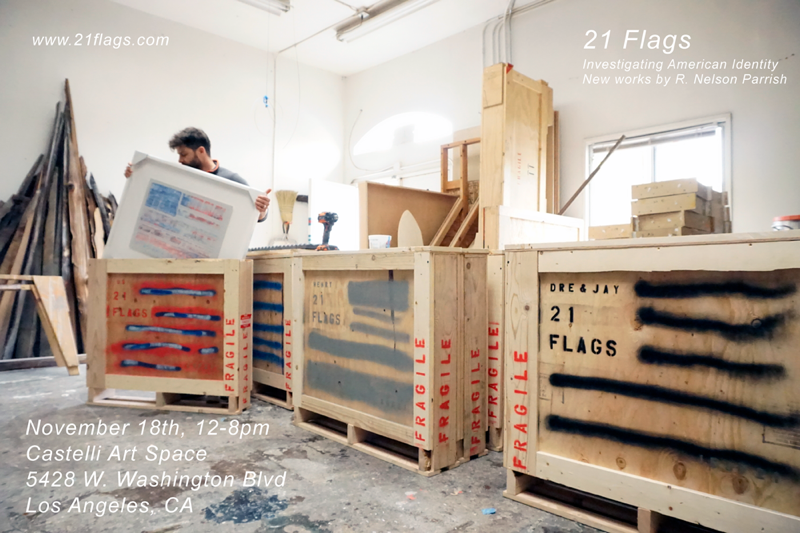"""R. Nelson Parrish """"21 Flags"""""""