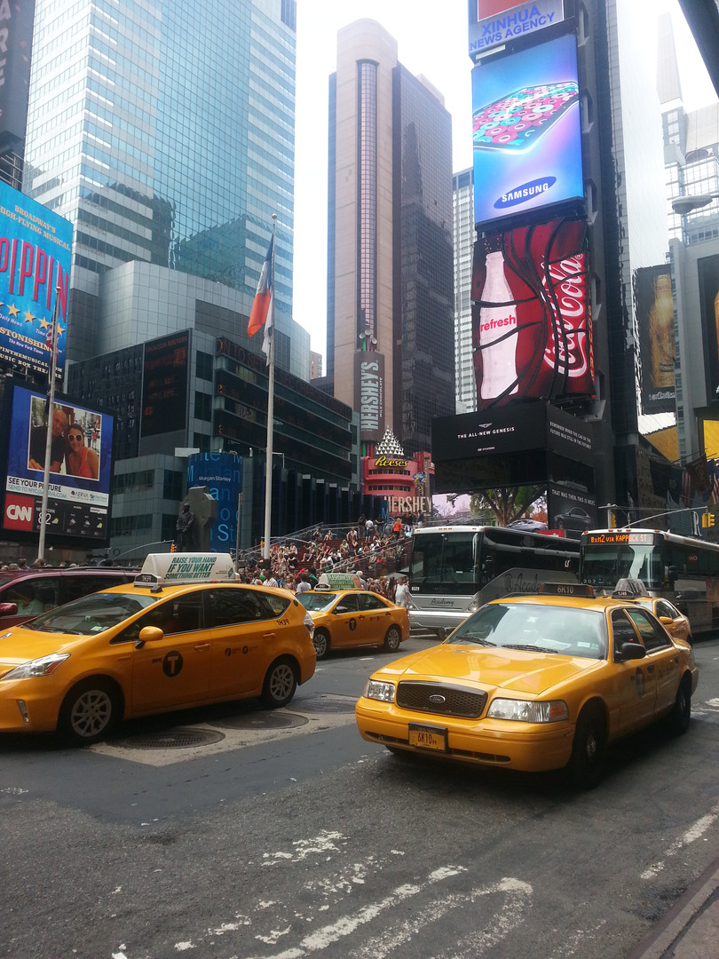 USA - Time's Square/New York Taxi's
