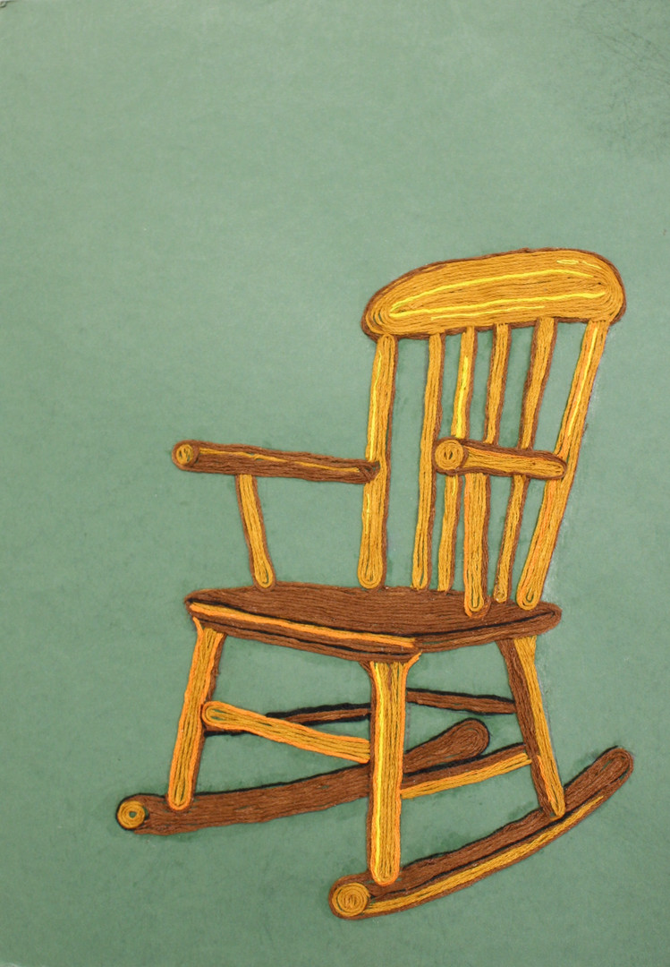 His old chair