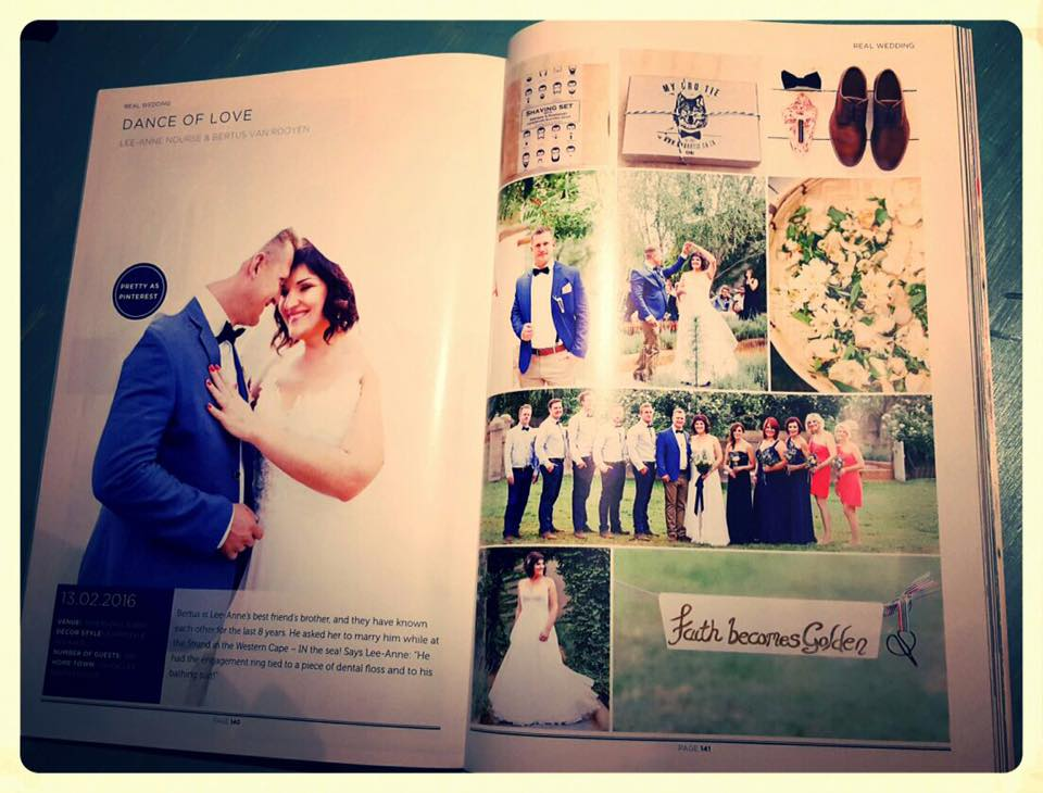 """My Wedding Day"" Magazine Feature"