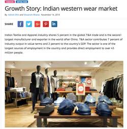 Growth Story: Indian western wear market