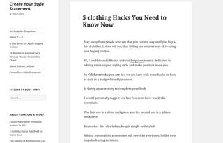 5 clothing Hacks for Bespoken