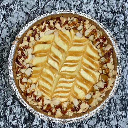 Caramel Almond Cheesecake