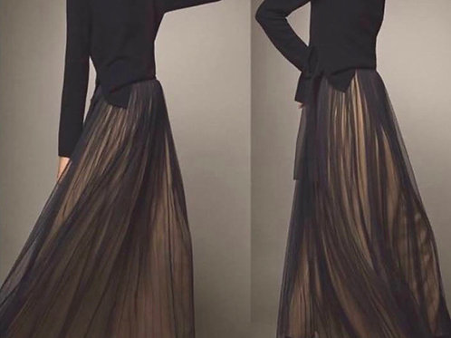 Massimo Dutti evening skirt