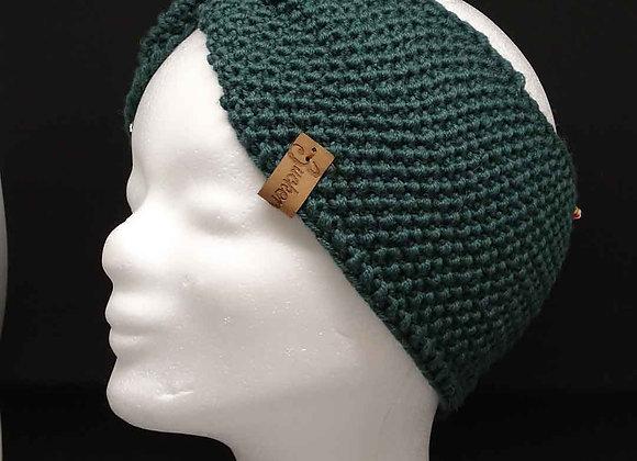 Stirnband mit Perlmuster und Twist
