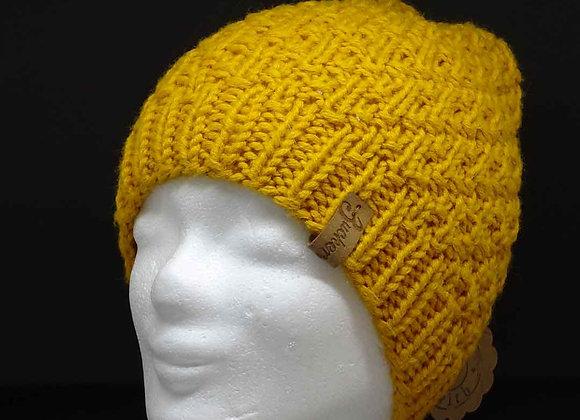 Klassische Mütze aus Mischgarn