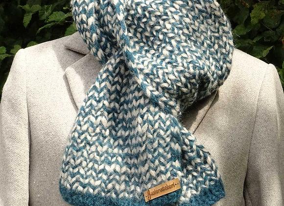 Schal aus Baby-Alpaka-Wolle
