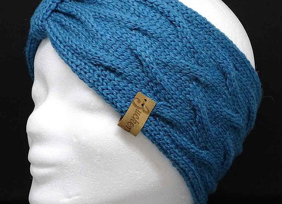 Stirnband mit Zöpfen und Band