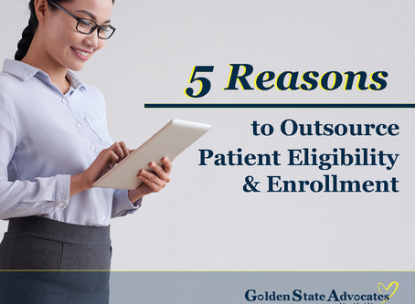 5 Reasons to Outsource Patient Eligibility and Enrollment