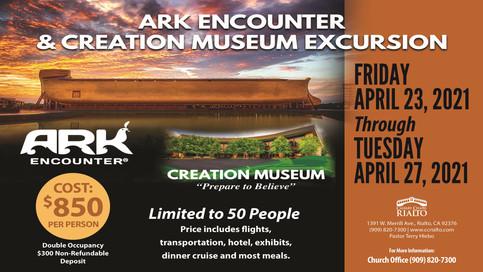 ARK ENCOUNTER & CREATION MUSEUM TOUR