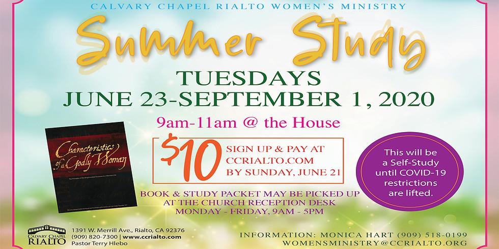 Women's Summer Study 2020