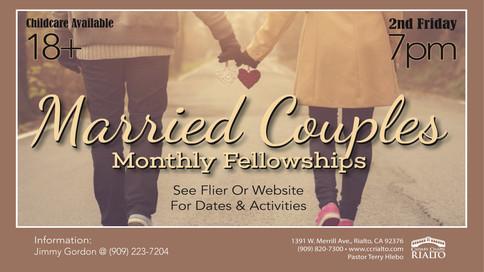 MARRIED COUPLES' DINNER FELLOWSHIP