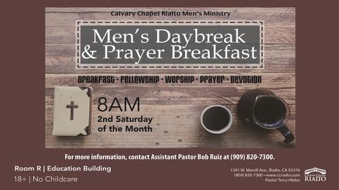 Men's Daybreak & Prayer Breakfast