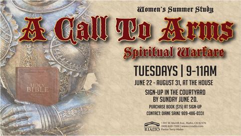 Women's Ministry: Summer Study