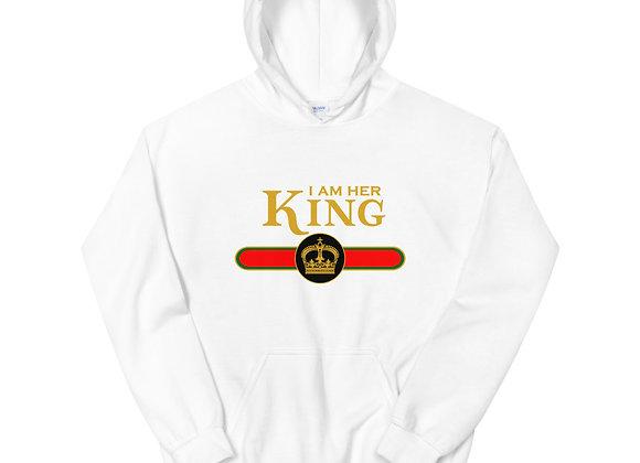 I Am Her King Men's Hoodie