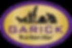 Garick Circle Logo - Large - Gold Backgr