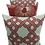 Thumbnail: Kit Capa de Almofada Velveteen Vermelha  4 Pçs