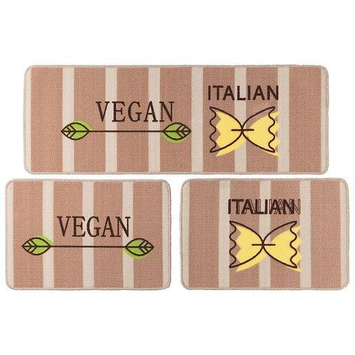 Jogo de Cozinha 3 Pçs - Menu Vegan