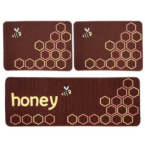 Jogo de Cozinha 3 Pçs - Menu Honey