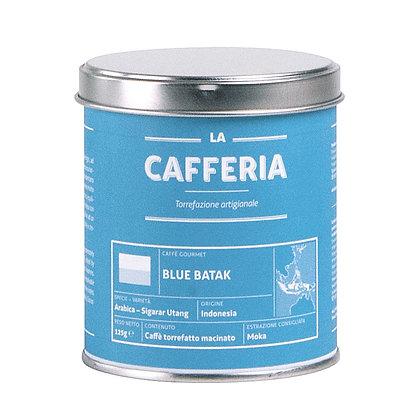 "La Cafferia ""Blue Batak"" 125g gemahlen (71,60€/kg)"
