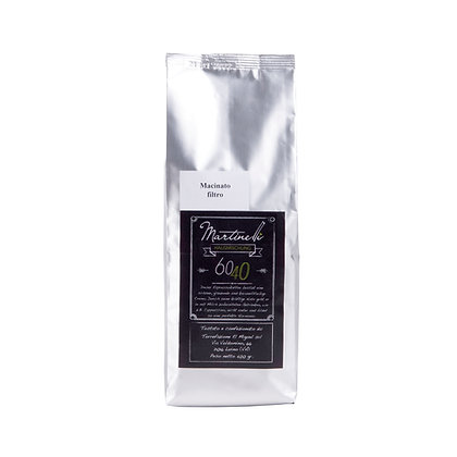 60/40 500g Filterkaffee gemahlen (22,00€/kg)