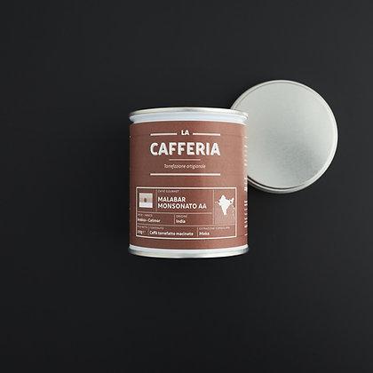 "La Cafferia""Malabar Monsonato AA"" 125g gemahlen (55,60€/kg)"