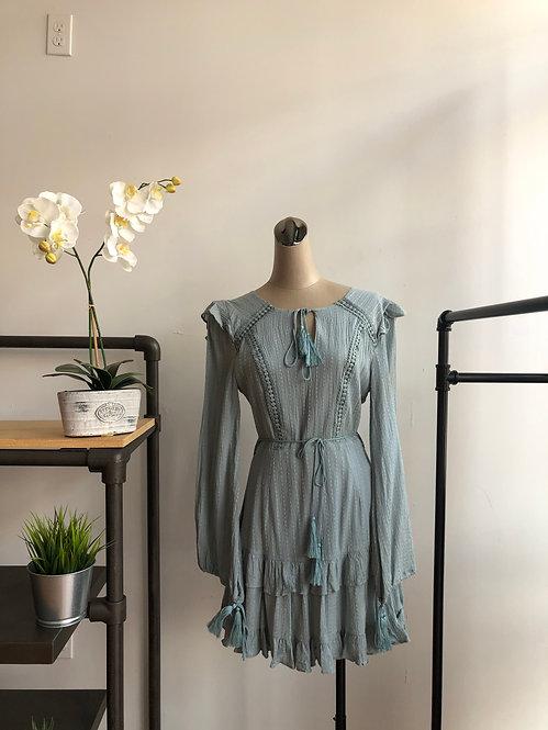 Bohemian Long Sleeve Dress
