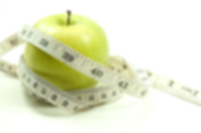 An apple with measuring tape.jpg Weight