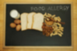 Food allergy. Food can cause food allerg