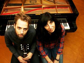 Duo recording with piano player Eva Novoa