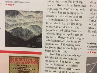 """Two new fine reviews of my album """"Snow Tiger"""" (Swedish)"""