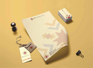 Logo, Identity and Stationery design for SHR Lifestyles