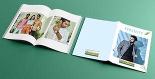 Look Book Design for Linen Fiesta